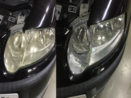 AlfaRomeo147TS ヘッドライト黄ばみ取り&コーティング.jpg