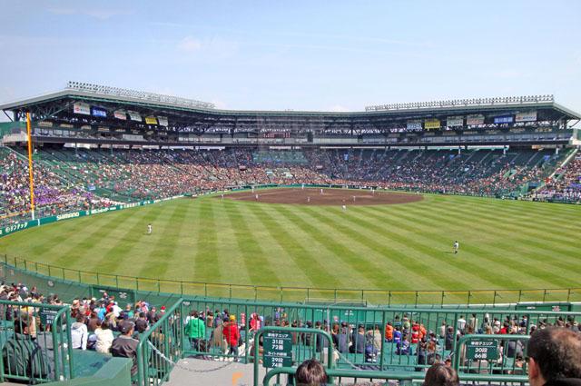 春・夏の全国高校野球選手権が行われる甲子園球場.jpg