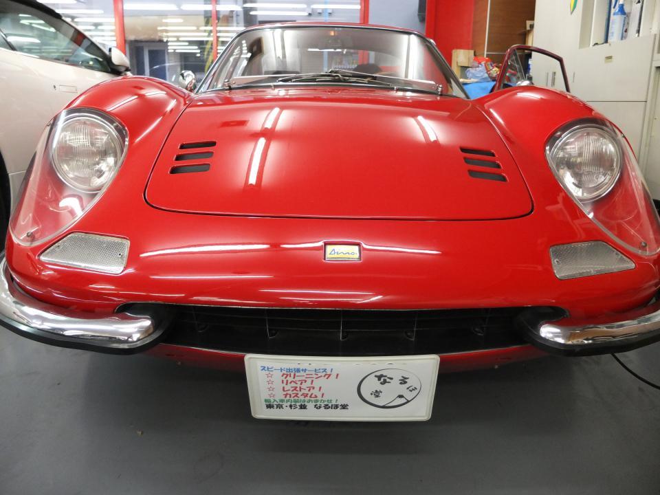 フェラーリ ディーノ246GT シートレストア.jpeg